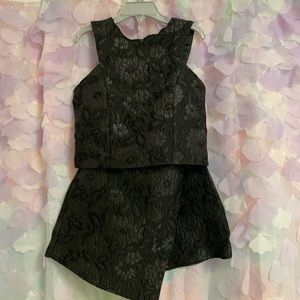 Girls Miss Behave Skirt and top set 10